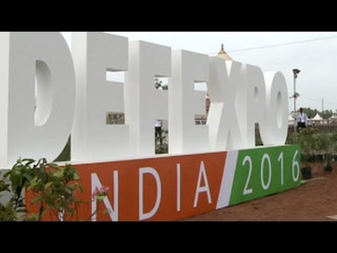 The international exhibition overland and military-sea arms, DEFEXPO India – 2016