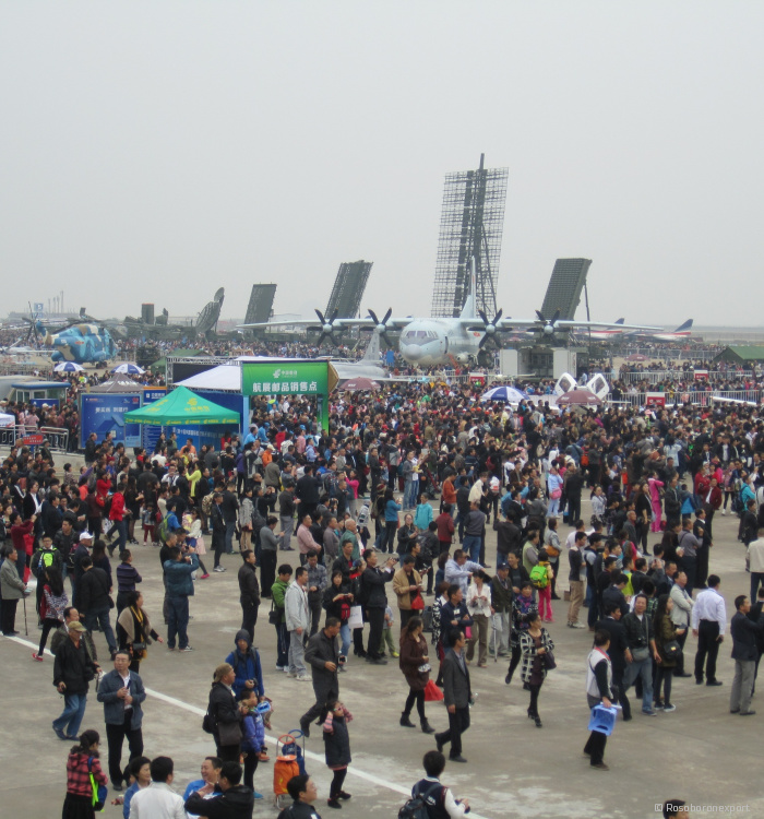 Aerospace exhibition in Zhuhai