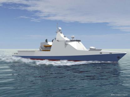 Patrol escort vessel economic speed