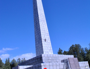 Restoration of the memorial Sapun Mountain