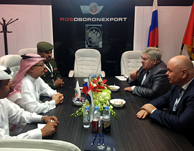 Rosoboronexport to intensify cooperation with the Middle East countries at IDEX 2015