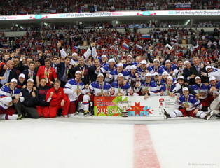 Russian national hockey team - world champion 2014
