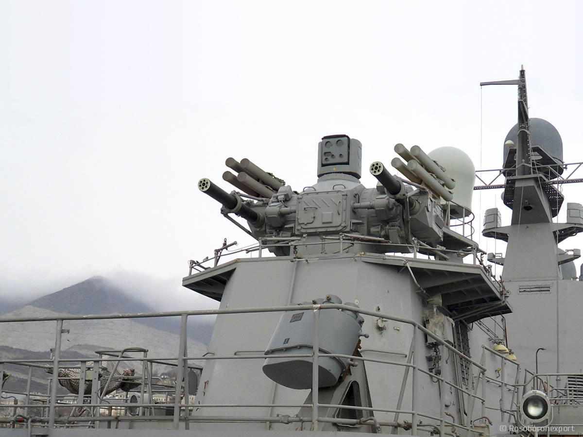 Shipborne Automated Anti Aircraft Artillery System With