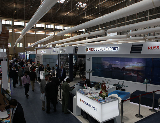 Rosoboronexport Holds Meaningful Talks with India at Aero India 2019