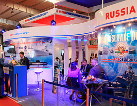 Rosoboronexport will take part in India's first naval show