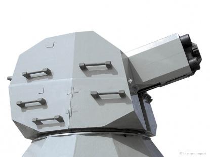 The 30mm twin automatic shipborne gun mount AK-630M-2