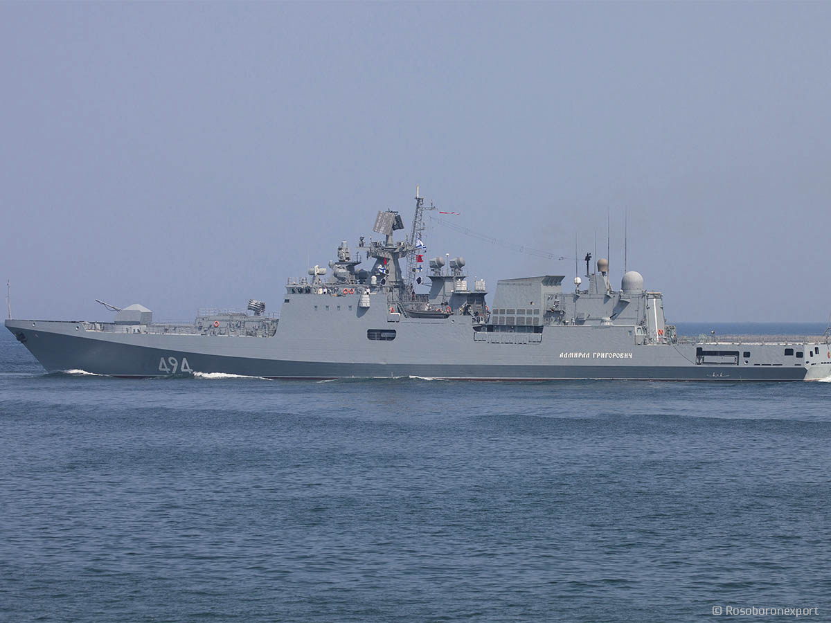 Frigate 11356: photo and history of the project 6