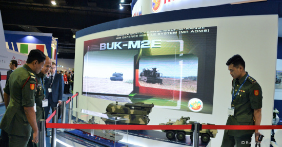 Rosoboronexport to Bring Russian Military Equipment  for All Services to Malaysia's DSA 2018