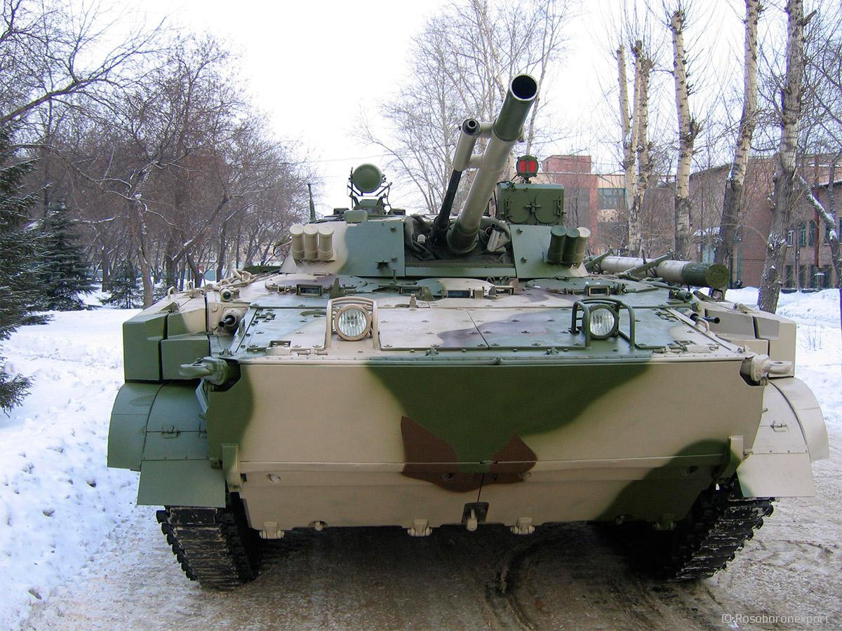 Infantry fighting vehicle BMP-3   Catalog Rosoboronexport