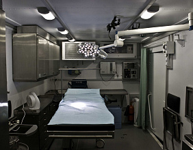 Rosoboronexport offers mobile hospitals, modules  and standalone equipment to control epidemics