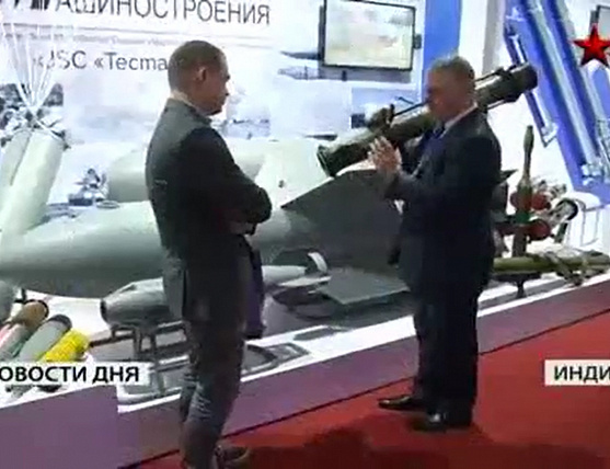 At the exhibition, DEFEXPO 2014 in India presented the options of modernization of the Russian air defense systems | Star