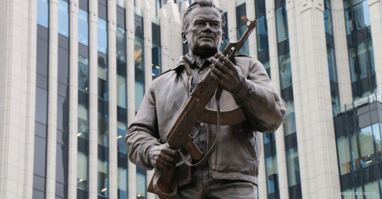 Rosoboronexport: Monument to Mikhail Kalashnikov in Moscow is the Recognition of his Merits to Russia