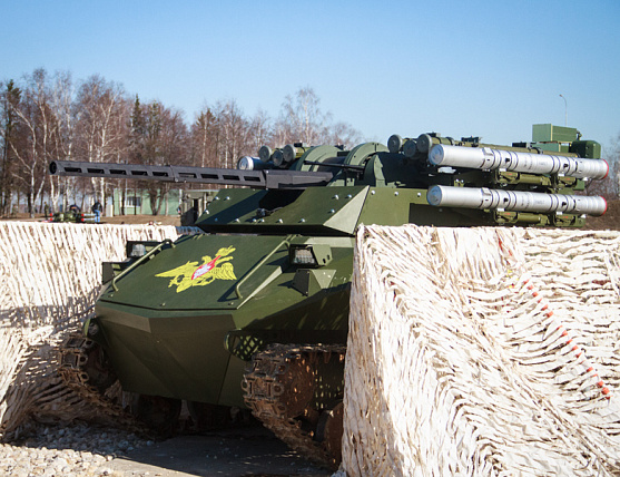 Rosoboronexport to start promoting Uran-9 combat robotic system