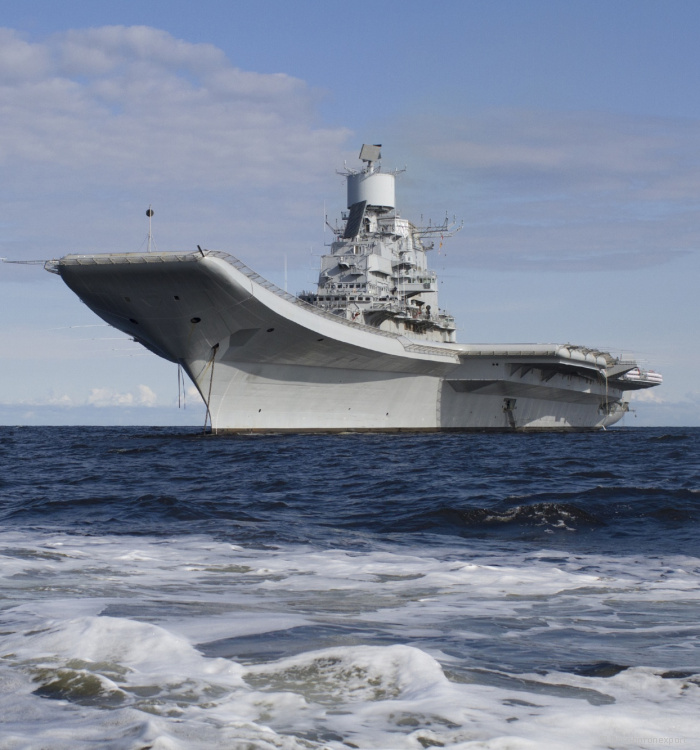 Transfer Indian aircraft carrier Vikramaditya