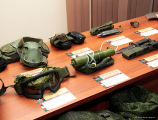 Meetings section technique and armament of ground troops